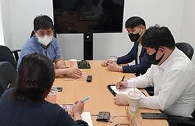 전산세무회계과정 본사 회의